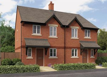"Thumbnail 3 bedroom mews house for sale in ""Hawthorne"" at Burton Road, Streethay, Lichfield"