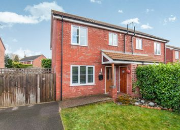Thumbnail 3 bed end terrace house for sale in Stokes Avenue, Watton, Thetford