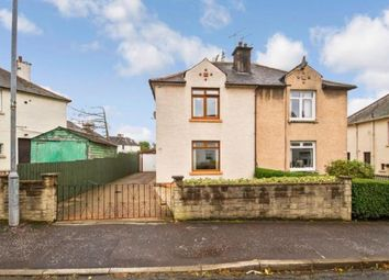 Thumbnail 2 bedroom semi-detached house for sale in Balerno Drive, Glasgow, Lanarkshire