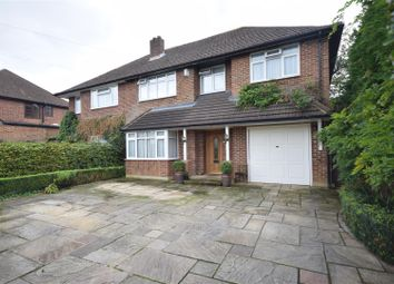 Thumbnail 4 bedroom semi-detached house for sale in Bramley Way, Ashtead