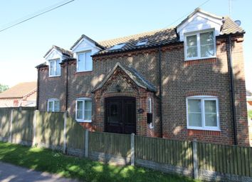 Thumbnail 4 bedroom detached house for sale in Bygone, Main Road, Fleggburgh, Great Yarmouth