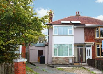 Thumbnail 3 bed semi-detached house for sale in Cypress Avenue, Thornton-Cleveleys, Lancashire