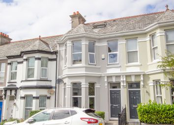 Thumbnail 4 bed terraced house for sale in Rosslyn Park Road, Peverell, Plymouth