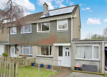 Thumbnail 4 bedroom semi-detached house for sale in Penarrow Close, Falmouth