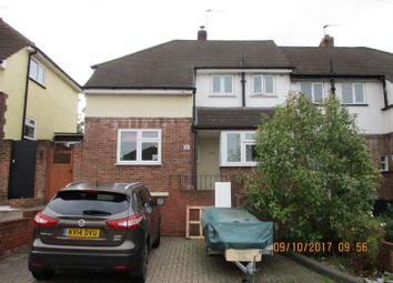 Thumbnail 3 bedroom semi-detached house to rent in Fontayne Avenue, Romford