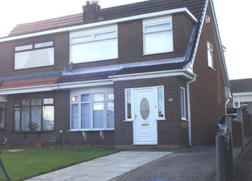 Thumbnail 3 bed semi-detached house to rent in Birstall Avenue, St. Helens
