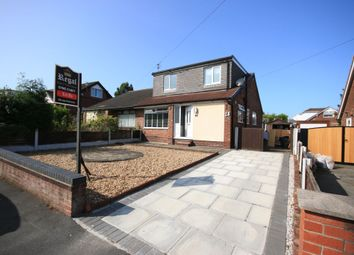 Thumbnail 4 bed semi-detached house to rent in Oxford Road, Orrell, Wigan