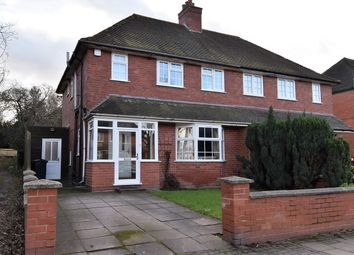 Thumbnail 3 bed semi-detached house for sale in Heath Road, Bournville, Birmingham