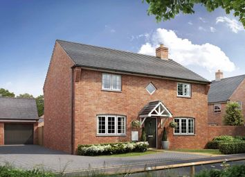 "Thumbnail 4 bed detached house for sale in ""Thornbury"" at Broughton Crossing, Broughton, Aylesbury"