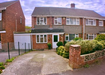 Thumbnail 4 bed semi-detached house for sale in Effingham Gardens, Southampton