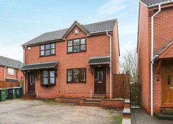 Thumbnail 2 bedroom semi-detached house for sale in Trajan Hill, Coleshill, Warwickshire, Birmingham
