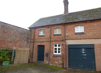 Thumbnail 2 bedroom cottage to rent in Hall Cottage, Peplow, Market Drayton