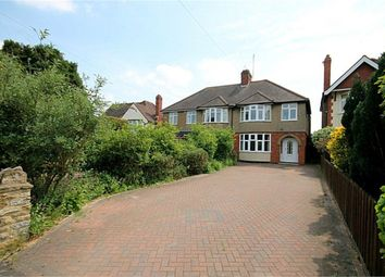 Thumbnail 3 bed semi-detached house for sale in Kettering Road North, Spinney Hill, Northampton