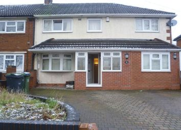 Thumbnail 4 bedroom semi-detached house for sale in Huntingdon Road, West Bromwich