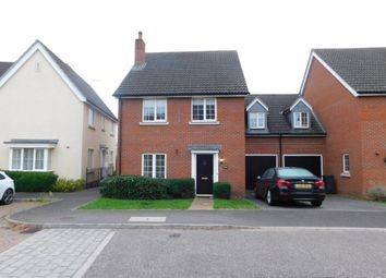 Thumbnail 4 bed link-detached house for sale in Phoenix Way, Stowmarket