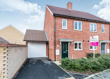 Thumbnail 2 bed semi-detached house for sale in Trowel Place, Colchester