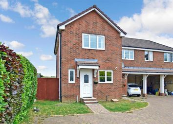Thumbnail 2 bed semi-detached house for sale in Prior Crescent, Newport, Isle Of Wight