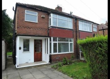 Thumbnail 3 bed semi-detached house to rent in Saville Road, Cheadle