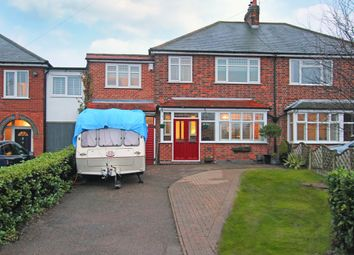 Thumbnail 4 bed semi-detached house for sale in Station Road, Leicester