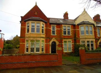 Thumbnail 4 bed flat to rent in Plymouth Road, Penarth