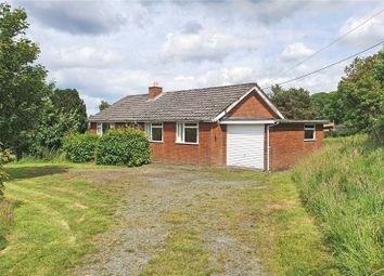 Thumbnail 3 bed bungalow for sale in Cefnllys, Llandrindod Wells, Powys