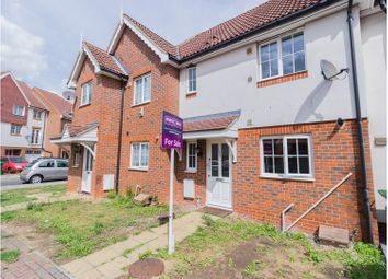 Thumbnail 2 bed terraced house for sale in Waterside Close, London