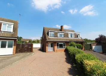 Thumbnail 3 bed semi-detached house for sale in Quantock Close, Putnoe