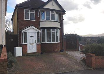 Thumbnail 3 bedroom detached house to rent in Trejon Road, Cradley Heath