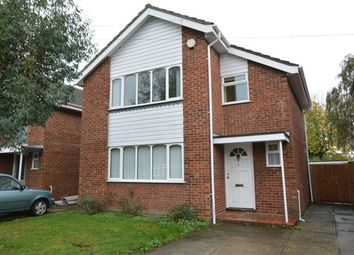 Thumbnail 3 bed detached house for sale in Wrenningham Road, Old Catton, Norwich