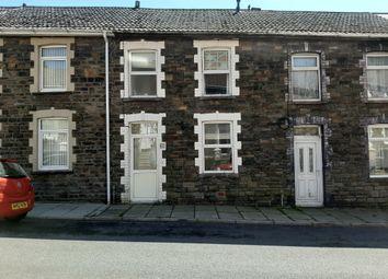 Thumbnail 2 bed terraced house for sale in Marian Street, Blaengarw, Bridgend