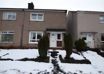 Thumbnail 2 bed semi-detached house for sale in Granger Road, Alexandria, West Dunbartonshire