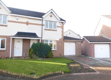 Thumbnail 3 bedroom semi-detached house to rent in Brecongill Close, Hartlepool