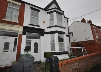 Thumbnail 4 bedroom end terrace house for sale in Percy Road, Wallasey