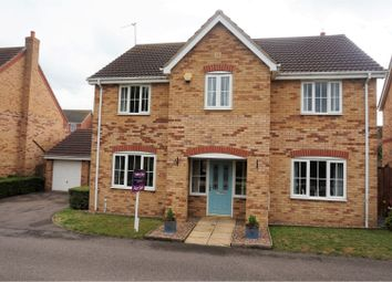 Thumbnail 4 bed detached house for sale in Mercia Drive, Grantham