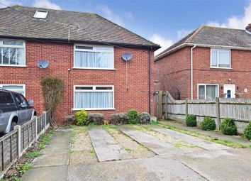 Thumbnail 2 bed semi-detached house for sale in Gore Lane, Eastry, Sandwich, Kent