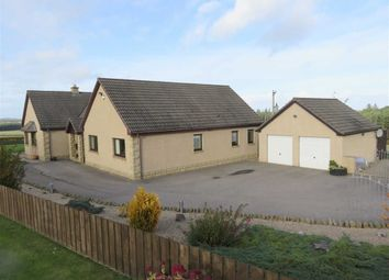 Thumbnail 4 bed detached bungalow for sale in Birnie, Elgin