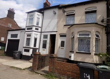 Thumbnail 4 bedroom terraced house to rent in Bury Park Road, Luton