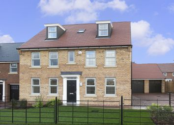 "Thumbnail 5 bed detached house for sale in ""Buckingham"" at Boughton Road, Moulton, Northampton"