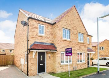 Thumbnail 3 bed semi-detached house for sale in Devonshire Close, Elloughton