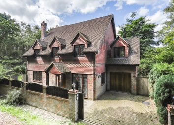 Thumbnail 4 bed detached house for sale in Gordon Road, Crowthorne, Berkshire
