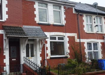 Thumbnail 3 bed terraced house to rent in The Avenue, Pontycymer-Bridgend