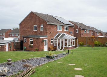 Thumbnail 3 bed semi-detached house for sale in Farr Wood Close, Groby, Leicester