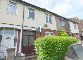 Thumbnail 3 bed terraced house to rent in Riseley Road, Hartshill, Staffs