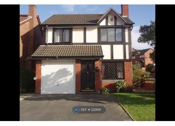 Thumbnail 4 bedroom detached house to rent in Clent Hill Drive, Rowley Regis