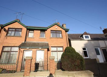 Thumbnail 2 bed end terrace house for sale in Red Row, Ballynahinch, Down