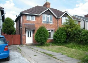 Thumbnail 3 bedroom property to rent in Hawthorne Road, Walsall