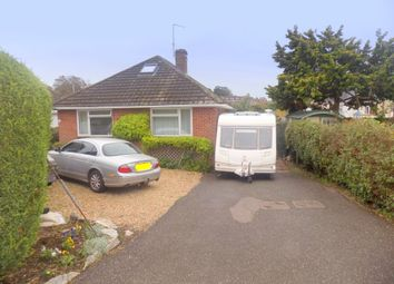 Thumbnail 2 bed detached bungalow for sale in Dene Close, Exmouth, Devon