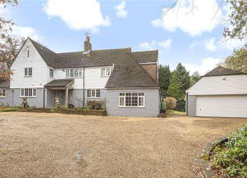 Thumbnail 5 bed detached house to rent in Goodley Stock Road, Crockham Hill, Edenbridge, Kent