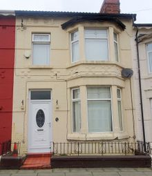 Thumbnail 3 bedroom terraced house to rent in Thurston Road, Anfield, Liverpool