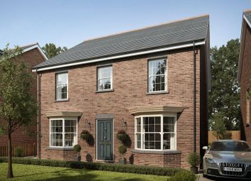 Thumbnail 4 bed detached house for sale in Plot 5, Mansion Gardens, Penllergaer, Swansea